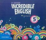 OUP ELT INCREDIBLE ENGLISH 2nd Edition 5 CLASS AUDIO CDs /3/ - PHILL... cena od 658 Kč