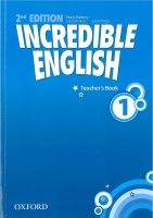 OUP ELT INCREDIBLE ENGLISH 2nd Edition 1 TEACHER´S BOOK - PHILLIPS, ... cena od 397 Kč