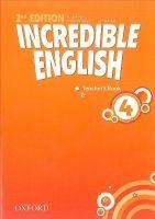 OUP ELT INCREDIBLE ENGLISH 2nd Edition 4 TEACHER´S BOOK - PHILLIPS, ... cena od 397 Kč
