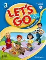 XXL obrazek OUP ELT LET´S GO Fourth Edition 3 STUDENT´S BOOK + AUDIO CD - FRAZIE...
