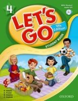XXL obrazek OUP ELT LET´S GO Fourth Edition 4 STUDENT´S BOOK + AUDIO CD - FRAZIE...