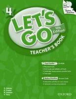 OUP ELT LET´S GO Fourth Edition 4 TEACHER´S BOOK - FRAZIER, K., NAKA... cena od 562 Kč