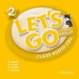 OUP ELT LET´S GO Fourth Edition 2 CLASS AUDIO CDs /2/ - FRAZIER, K.,... cena od 439 Kč
