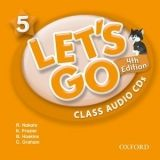 OUP ELT LET´S GO Fourth Edition 5 CLASS AUDIO CDs /2/ - FRAZIER, K.,... cena od 418 Kč