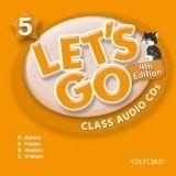OUP ELT LET´S GO Fourth Edition 5 CLASS AUDIO CDs /2/ - FRAZIER, K.,... cena od 439 Kč