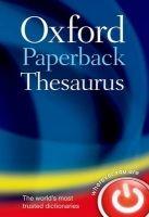 OUP References OXFORD PAPERBACK THESAURUS 4th Edition - WAITE, M. cena od 194 Kč