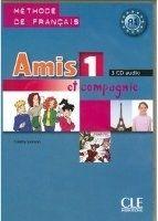 CLE international AMIS ET COMPAGNIE 1 CD/3/ Classe - COLETTE, S. cena od 1131 Kč