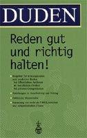 Bibliographisches Institut & F DUDEN REDEN GUT UND RICHTIG HALTEN! (2. Auflage) - HUTH, S. ... cena od 558 Kč