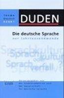 Bibliographisches Institut & F DUDEN THEMA DEUTSCH 1 - DIE DEUTSCHE SPRACHE ZUR JAHRTAUSEND... cena od 466 Kč