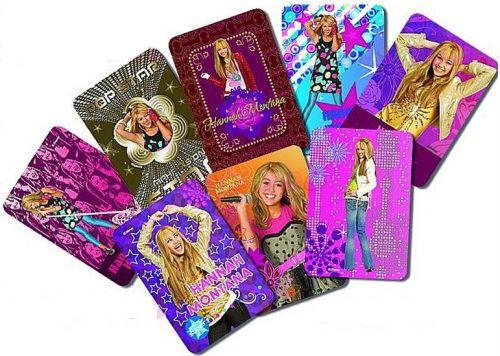 Samolepky Kartičky Hannah Montana cena od 22 Kč