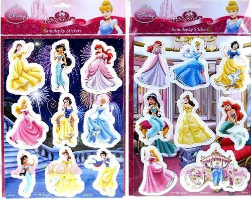 Samolepky Disney Princezny cena od 37 Kč