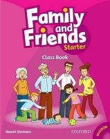 OUP ELT FAMILY AND FRIENDS STARTER COURSE BOOK WITH MULTIROM PACK - ... cena od 219 Kč
