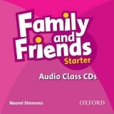 OUP ELT FAMILY AND FRIENDS STARTER CLASS AUDIO CDs /2/ - SIMMONS, N. cena od 439 Kč
