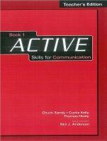 Heinle ELT part of Cengage Lea ACTIVE SKILLS FOR COMMUNICATION 1 TEACHER´S BOOK - SANDY, Ch... cena od 483 Kč