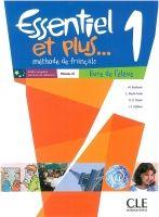 CLE international ESSENTIEL ET PLUS 1 A1 Livre d´éleve & CD MP3 cena od 309 Kč