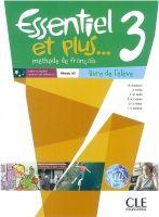CLE international ESSENTIEL ET PLUS 3 A2 Livre d´éleve & CD MP3 cena od 319 Kč