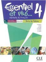 CLE international ESSENTIEL ET PLUS 4 A2/B1 Livre d´éleve & CD MP3 cena od 319 Kč