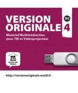 Maison des langues VERSION ORIGINALE 4 (B2) USB MULTIMEDICATION cena od 1 578 Kč