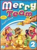 ELI s.r.l. MERRY TEAM Student's Book 2 - MUSIOL, M., VILLARROEL, M. cena od 220 Kč