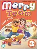 ELI s.r.l. MERRY TEAM Student's Book 3 - MUSIOL, M., VILLARROEL, M. cena od 228 Kč