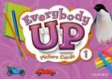 OUP ELT EVERYBODY UP 1 PICTURE CARDS - ROBERTSON, L., JACKSON, P., B... cena od 2 357 Kč