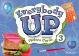 OUP ELT EVERYBODY UP 3 PICTURE CARDS - ROBERTSON, L., JACKSON, P., B... cena od 2 357 Kč