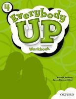 OUP ELT EVERYBODY UP 4 WORKBOOK - KAMPA, K., VILINA, Ch., JACKSON, P... cena od 261 Kč