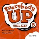 OUP ELT EVERYBODY UP 5 CLASS AUDIO CDs /2/ - KAMPA, K., VILINA, Ch. cena od 439 Kč