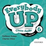OUP ELT EVERYBODY UP 6 CLASS AUDIO CDs /2/ - KAMPA, K., VILINA, Ch. cena od 439 Kč