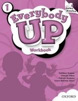 OUP ELT EVERYBODY UP 1 WORKBOOK WITH ONLINE PRACTICE PACK - KAMPA, K... cena od 377 Kč