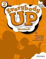 XXL obrazek OUP ELT EVERYBODY UP 2 WORKBOOK WITH ONLINE PRACTICE PACK - JACKSON,...