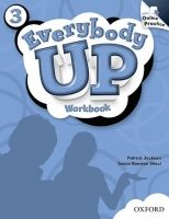 XXL obrazek OUP ELT EVERYBODY UP 3 WORKBOOK WITH ONLINE PRACTICE PACK - JACKSON,...