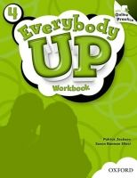 XXL obrazek OUP ELT EVERYBODY UP 4 WORKBOOK WITH ONLINE PRACTICE PACK - JACKSON,...