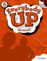 XXL obrazek OUP ELT EVERYBODY UP 5 WORKBOOK WITH ONLINE PRACTICE PACK - JACKSON,...