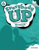 XXL obrazek OUP ELT EVERYBODY UP 6 WORKBOOK WITH ONLINE PRACTICE PACK - JACKSON,...