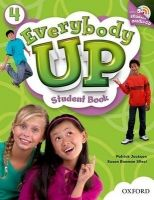 OUP ELT EVERYBODY UP 4 STUDENT´S BOOK WITH AUDIO CD PACK - JACKSON, ... cena od 489 Kč