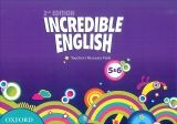 OUP ELT INCREDIBLE ENGLISH 2nd Edition 5-6 TEACHER´S RESOURCE PACK -... cena od 1 185 Kč