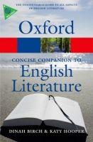 OUP References OXFORD CONCISE COMPANION TO THE ENGLISH LITERATURE 4th Editi... cena od 362 Kč