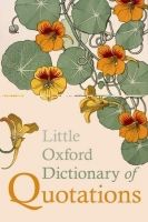 OUP References LITTLE OXFORD DICTIONARY OF QUOTATIONS Fifth Edition - RATCL... cena od 270 Kč
