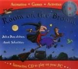 XXL obrazek Pan Macmillan ROOM ON THE BROOM BOOK AND INTERACTIVE CD - DONALDSON, J.