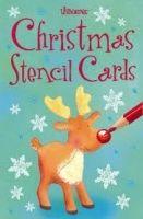 Usborne Publishing CHRISTMAS STENCIL CARDS - WATT, F. cena od 158 Kč