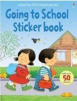 Usborne Publishing First Experience Sticker Going to School cena od 123 Kč