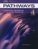 Heinle ELT part of Cengage Lea PATHWAYS LISTENING, SPEAKING AND CRITICAL THINKING 4 STUDENT... cena od 439 Kč