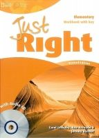 Heinle ELT part of Cengage Lea JUST RIGHT Second Edition ELEMENTARY WORKBOOK WITH ANSWER KE... cena od 296 Kč