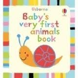 Usborne Publishing BABY´S VERY FIRST ANIMALS BOOK - TYLER, J. cena od 135 Kč