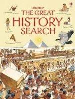 Usborne Publishing THE GREAT HISTORY SEARCH - KHANDURI, K. cena od 0 Kč