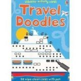 Usborne Publishing TRAVEL DOODLES - WATT, F. cena od 144 Kč