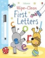 Usborne Publishing USBORNE WIPE-CLEAN FIRST LETTERS - BROOKS, F. cena od 167 Kč
