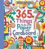 Usborne Publishing 365 THINGS TO DO WITH PAPER AND CARDBOARD - WATT, F. cena od 321 Kč