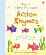 Usborne Publishing FIRST PICTURE: ACTION RHYMES - BROOKS, F. cena od 152 Kč